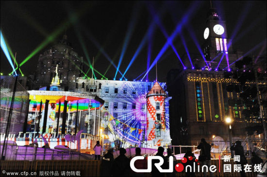 Shanghai Bund Dec 31 (!) 2011