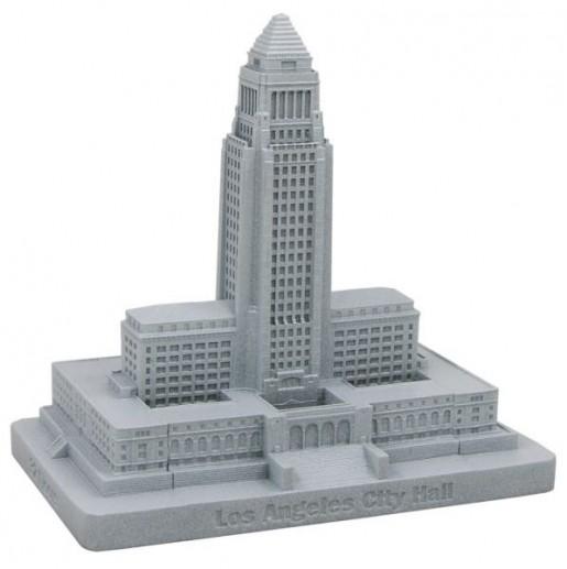 "LA City Hall High-Rise 1928: Art Dco ""Aztec"" Pyramid"